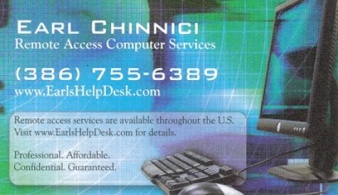 Earl Chinnici - EarlsHelpDesk.com